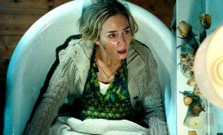 A Quiet Place - Un posto tranquillo: Emily Blunt in un momento del film