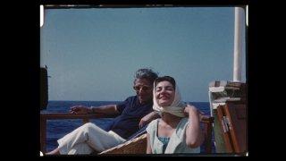 Maria by Callas: Maria Callas e Aristotle Onassis in un'immagine tratta dal documentario