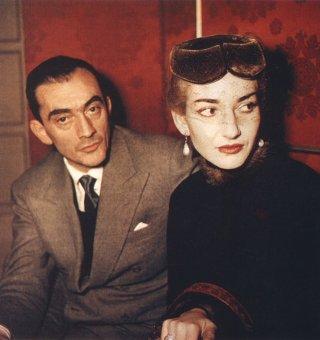Maria by Callas: Maria Callas e Luchino Visconti in un'immagine tratta dal documentario