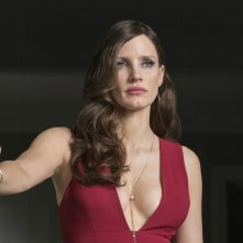 Molly's Game: Jessica Chastain in un'immagine del film