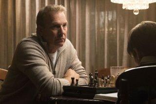 Molly's Game: Kevin Costner in una scena del film