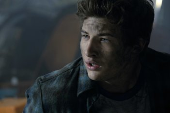 Ready Player One: Tye Sheridan in una scena del film