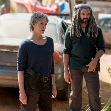 The Walking Dead: Melissa McBride e Khary Payton in Do Not Send Us Astray