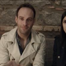 Transfert: Rossella Cardaci ed Enrico Sortino in una scena del film