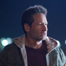 X-Files: David Duchovny  in una scena dell'episodio Il figlio perduto