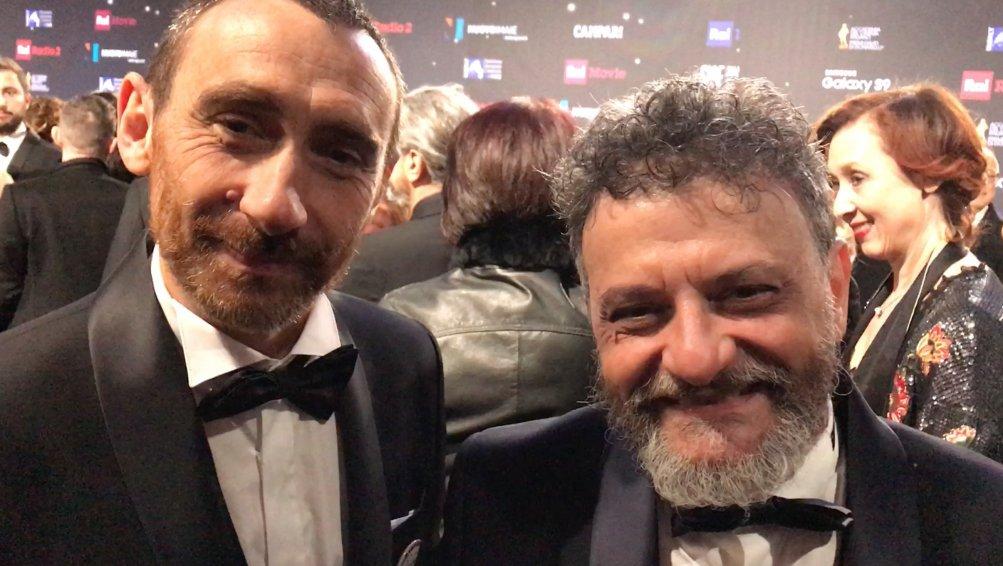Marco e Antonio Manetti ai David 2018