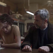 Beautful Boy: Timothée Chalamet e Steve Carell in una foto del film