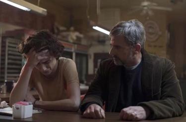 Beautful Boy: Timothée Chalamet e Steve Carell in una foto del film