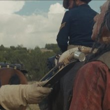 Hostiles: Christian Bale in un'immagine del film