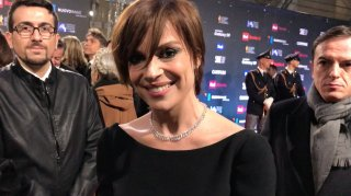 Micaela Ramazzotti ai David 2018