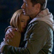 X-Files: David Duchovny e Gillian Anderson nell'episodio Il figlio perduto