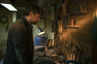 O Mecanismo: Selton Mello in una scena nella prima stagione
