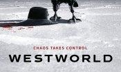 Westworld: il poster ufficiale della seconda stagione anticipa caos e morte