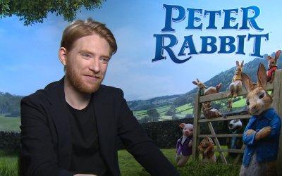 """Domhnall Gleeson: """"Peter Rabbit è Kevin di Mamma, ho perso l'aereo. Io uno dei ladri"""""""