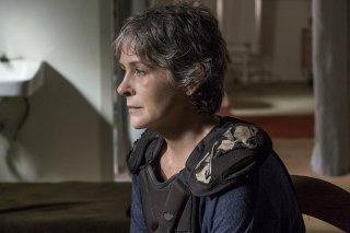 The Walking Dead: Melissa McBride nell'episodio Do Not Send Us Astray