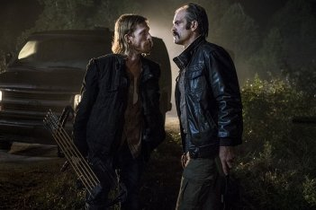 The Walking Dead: Steven Ogg, Austin Amelio nell'episodio Do Not Send Us Astray