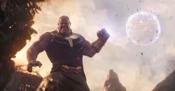 Avengers: Infinity War, una foto di Thanos