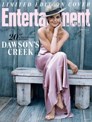 Dawson's Creek: Katie Holmes sulla cover di WW