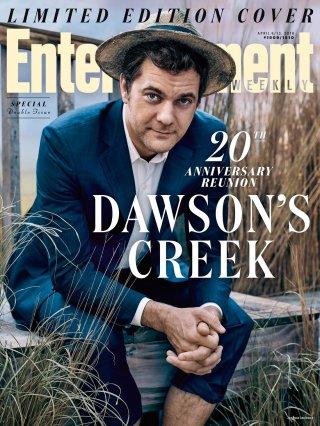Dawson's Creek: Joshua Jackson sulla cover di EW