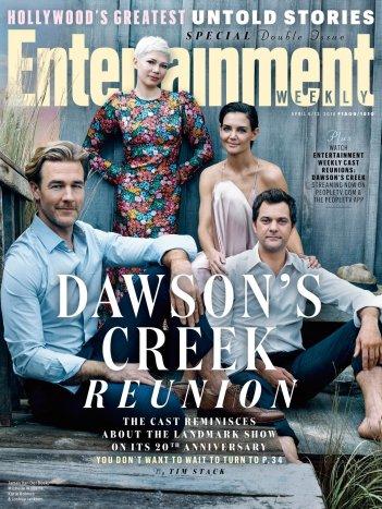Dawson's Creek: il cast sulla cover di EW