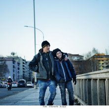 Io sono Tempesta: Elio Germano e Francesco Gheghi in una scena del film