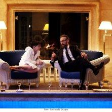 Io sono Tempesta: Marco Giallini e Francesco Gheghi in un'immagine del film