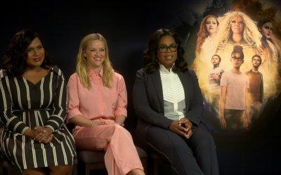 """Nelle pieghe del tempo, Oprah: """"Fallite su, non permettete ai fallimenti di tirarvi giù"""""""