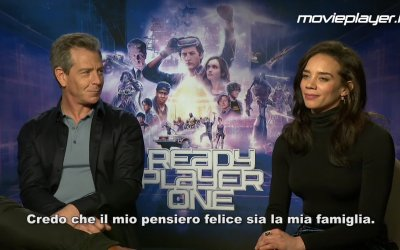 Ready Player One: Video intervista a Ben Mendelsohn e Hannah John-Kamen