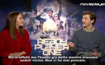 Ready Player One: Video intervista a Tye Sheridan e Olivia Cooke