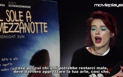 Il sole a mezzanotte: Video intervista a Bella Thorne