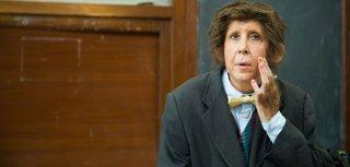 Marina Confalone in una scena de Il signor Rotpeter