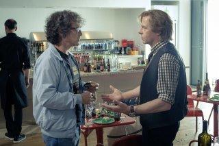 Ready Player One: Mark Rylance e Simon Pegg in una scena del film