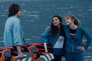 Succede: Matilde Passera, Matteo Oscar Giuggioli e Margherita Morchio in un momento del film