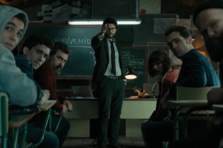 La casa di carta: una foto della prima stagione