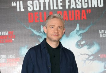 Martin Freeeman durante il photocall di Ghost Stories