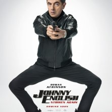 Locandina di Johnny English Strikes Again