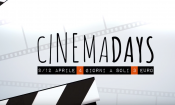 CinemaDays: dal 9 al 12 Aprile si va al cinema a 3 euro!