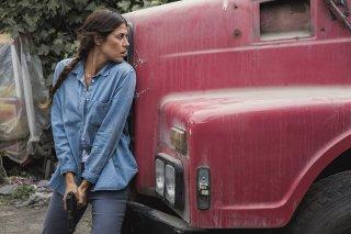 Deep State: Karima McAdams in una scena