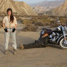 Il mio nome è Thomas: Terence Hill e Veronica Bitto in un'immagine promozionale del film