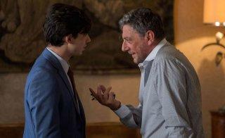 Il tuttofare: Sergio Castellitto e Guglielmo Poggi in un momento del film
