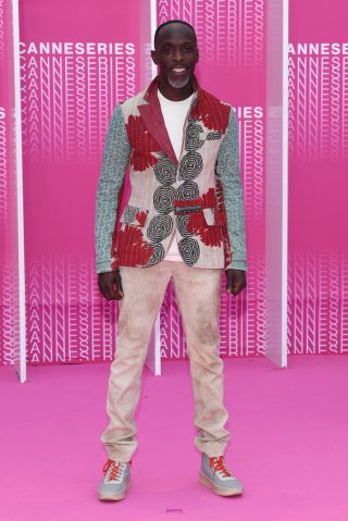 "Michael K. Williams ""bello in rosa"" a Canneseries 2018"