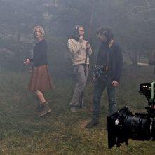 Parlami di Lucy: Antonia Liskova e il regista Giuseppe Petitto insieme sul set
