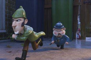 Sherlock Gnomes: una scena del film d'animazione
