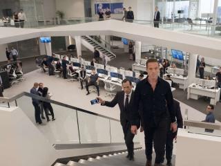 Billions: Damian Lewis in un momento della terza stagione