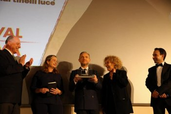 Martin Freeman riceve il premio alla carriera al Lucca Film Festival