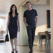 Billions:  Maggie Siff e Damian Lewis nella terza stagione