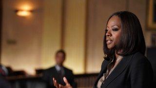 Le regole del delitto perfetto: Viola Davis in una foto del crossover con Scandal