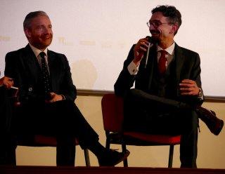Martin Freeman e Roberto Recchioni al Lucca Film Festival