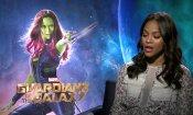 """Zoe Saldana contro chi ritiene """"indegni"""" i film di supereroi"""
