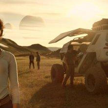 Lost in Space: Taylor Russell in una scena della prima stagione